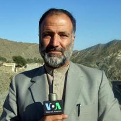 Mukarram Khan Aatif of VOA's Deewa Radio