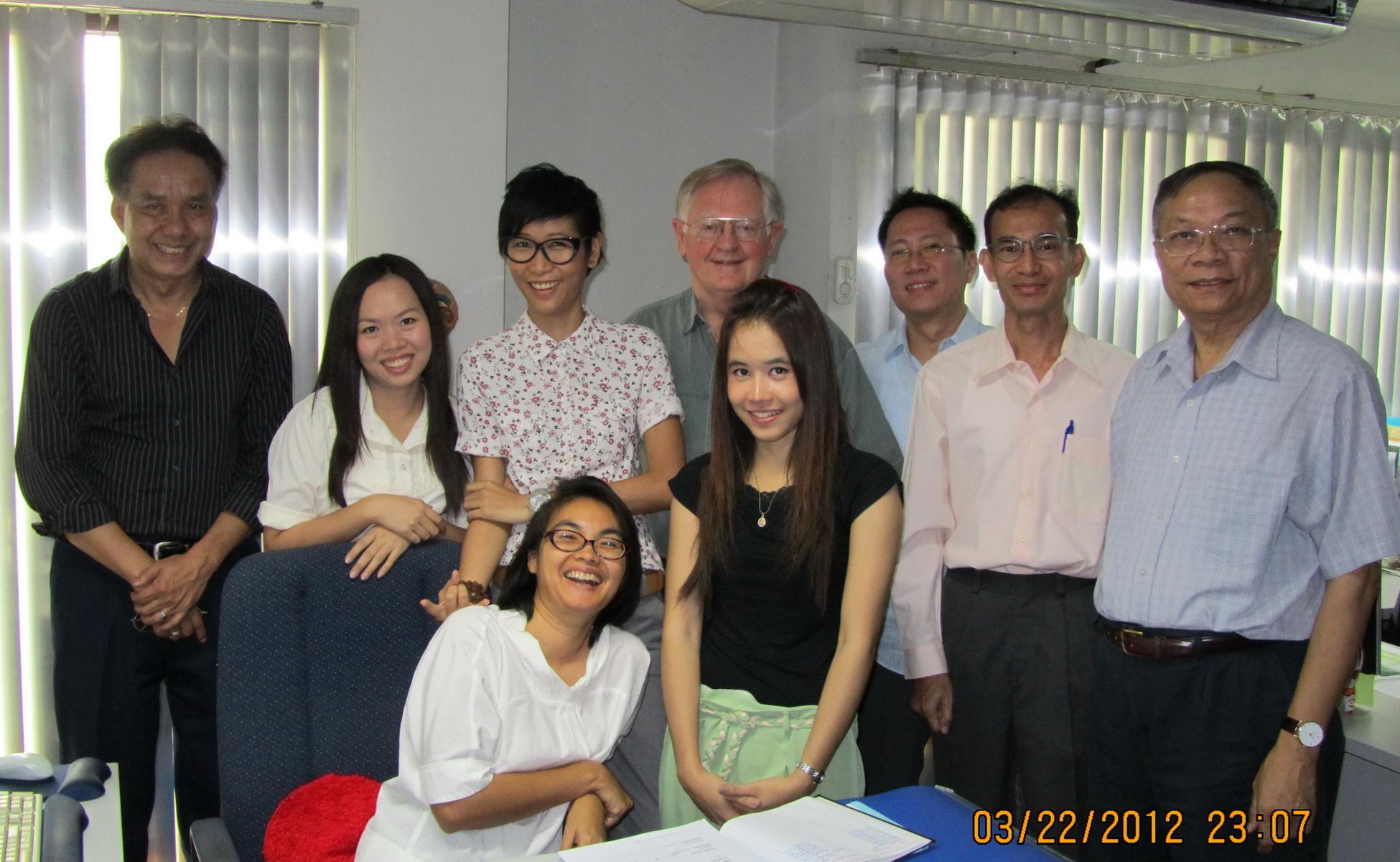 BBG Gov. Ashe with RFA staff