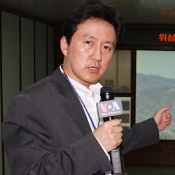 Baik in Pyongyang250