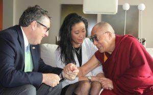 Meehan, Liu, the Dalai Lama