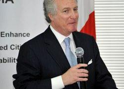RFE/RL President Steve Korn in Tbilisi