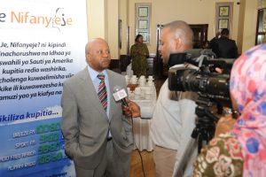 TZ Media Training - VOA Swahili Chief Hamza Mamoyo