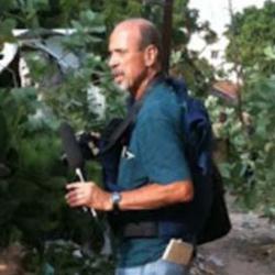 Veteran VOA correspondent Peter Heinlein