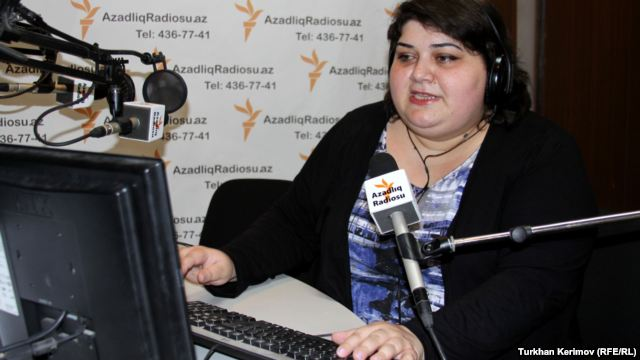 RFE/RL's Khadija Ismayilova