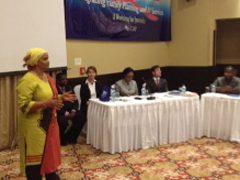 Media training in Tanzania