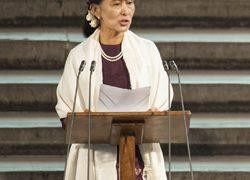 Britain Myanmar Aung San Suu Kyi