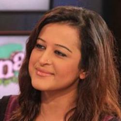 VOA program host Sana Mirza