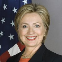 Photo of BBG Governor Hillary Rodham Clinton