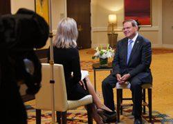 TV Martí's Karen Caballero sits down for an interview with Sen. Robert Menendez (D-N.J)