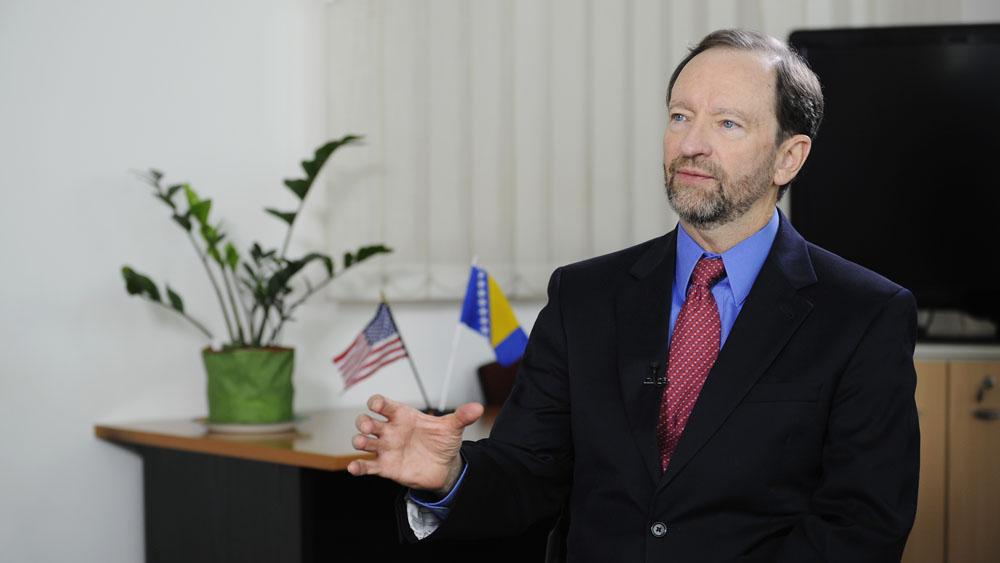 US Ambassador to Bosnia and Herzegovina Patrick Moon