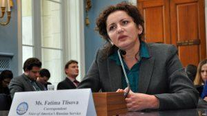 VOA Russian Service reporter Fatima Tlisova