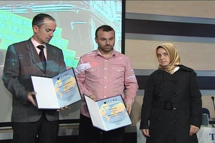 SEEMO Honors Alhurra's Bashar Fahmi and Cameraman Cuneyt Unal with Annual Human Rights Award