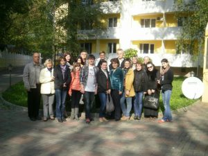 Reporters and Journalists Participants in the Seminar
