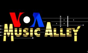 VOA Music Alley logo