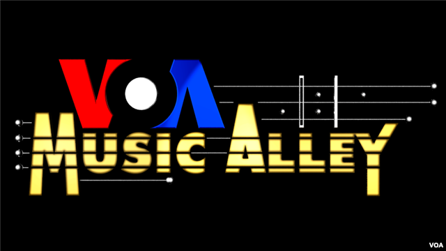 VOA Music Alley logo