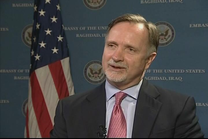 U.S. Ambassador to Iraq Robert Stephen Beecroft