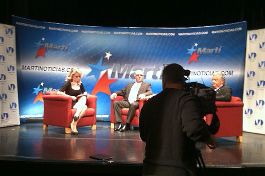 Avanza Cuba airs live from Miami-Dade College on Feb 5