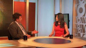 Former Pakistani President Pervez Musharraf interviewed by VOA's Ayesha Tanzeem
