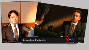 VOA speaks with Japan's Defense Minister