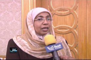 Amat Ali Razaq Ali Hamad, the Yemeni Minister of Social Affairs and Labor