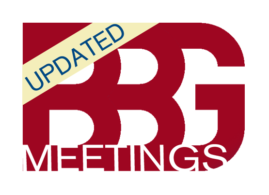BBG meeting logo with updated flag