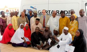 VOA Director David Ensor visits Nigeria in March 2013