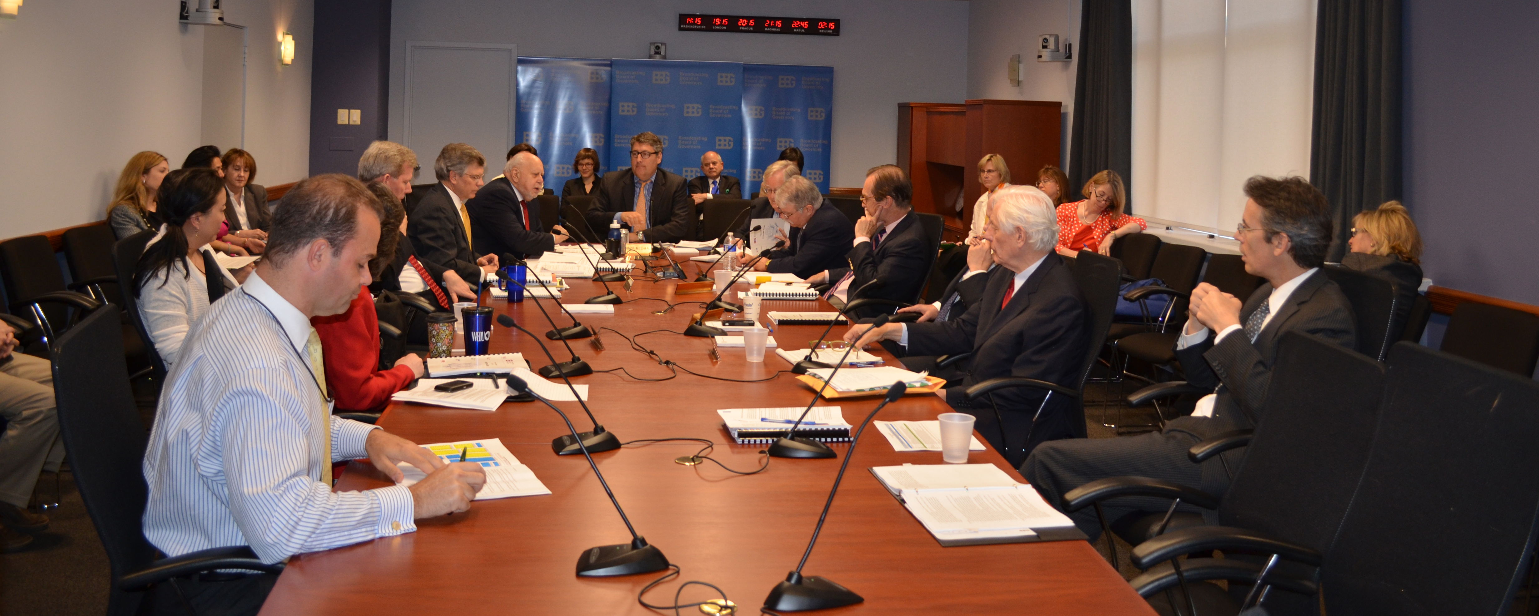 April 11, 2013 meeting of the Broadcasting Board of Governors