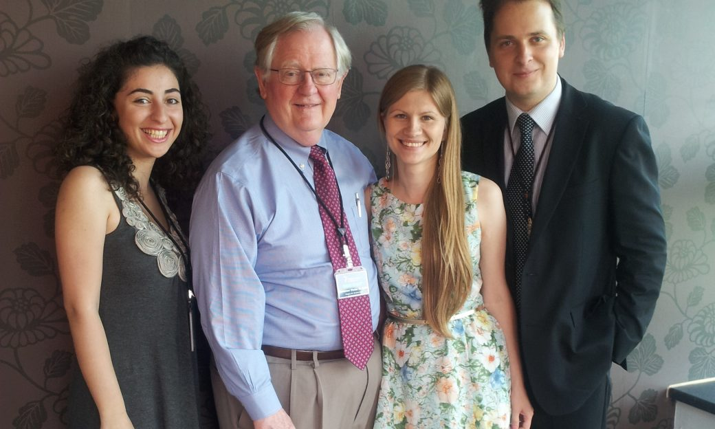 Ashe meets VHJF Fellows-cropped