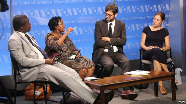 VOA Panelists Admonish Deda, Priscilla Ndlovu, Vukasin Petrovic and Lauren Ploch discuss Zimbabwe's challenges.