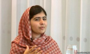 Malala Yousafzai speaks with RFE/RL