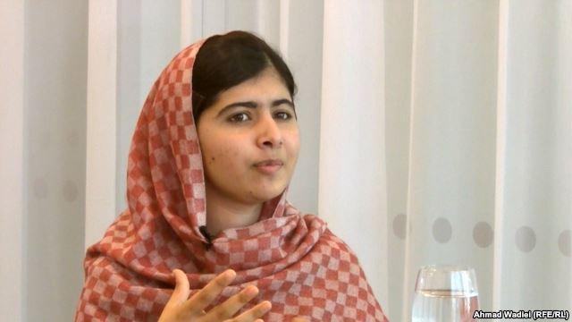 Malala Yousafzai speaks with RFE/RL