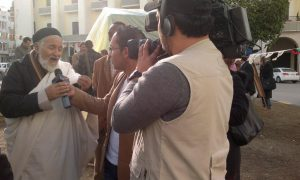 Alhurra' s correspondent Omar Twati reporting from Libya