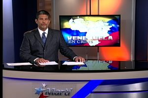Anchor introduces segment on Venezuela