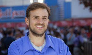Man smiling at camera
