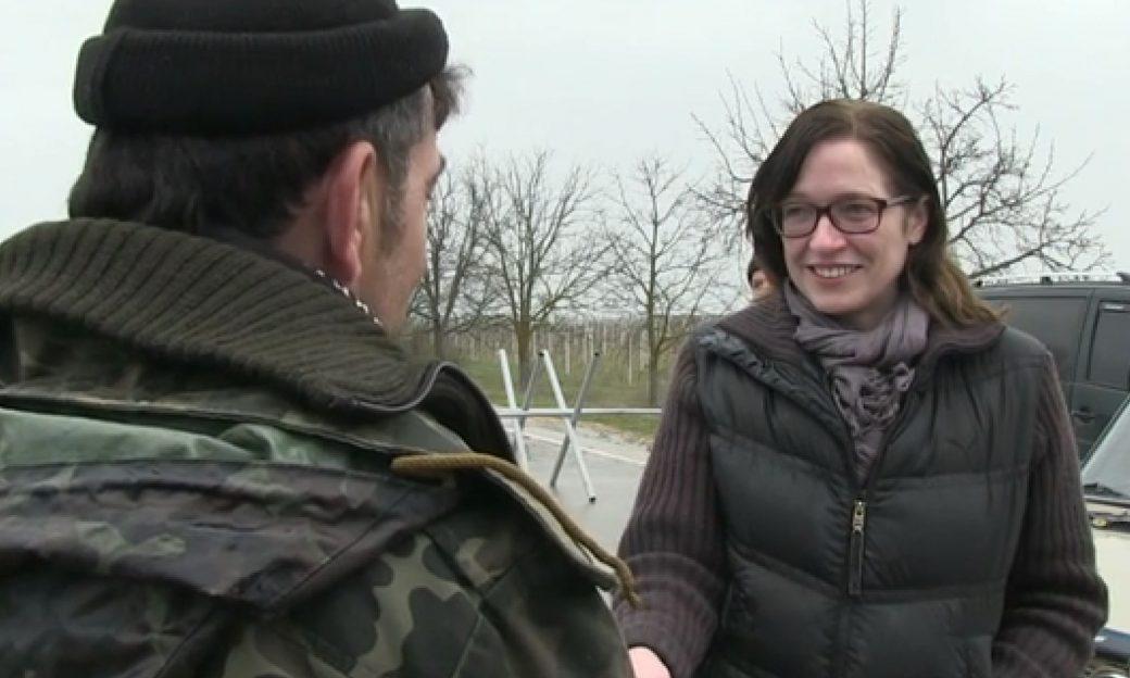 VOA's Elizabeth Arrott in Ukraine