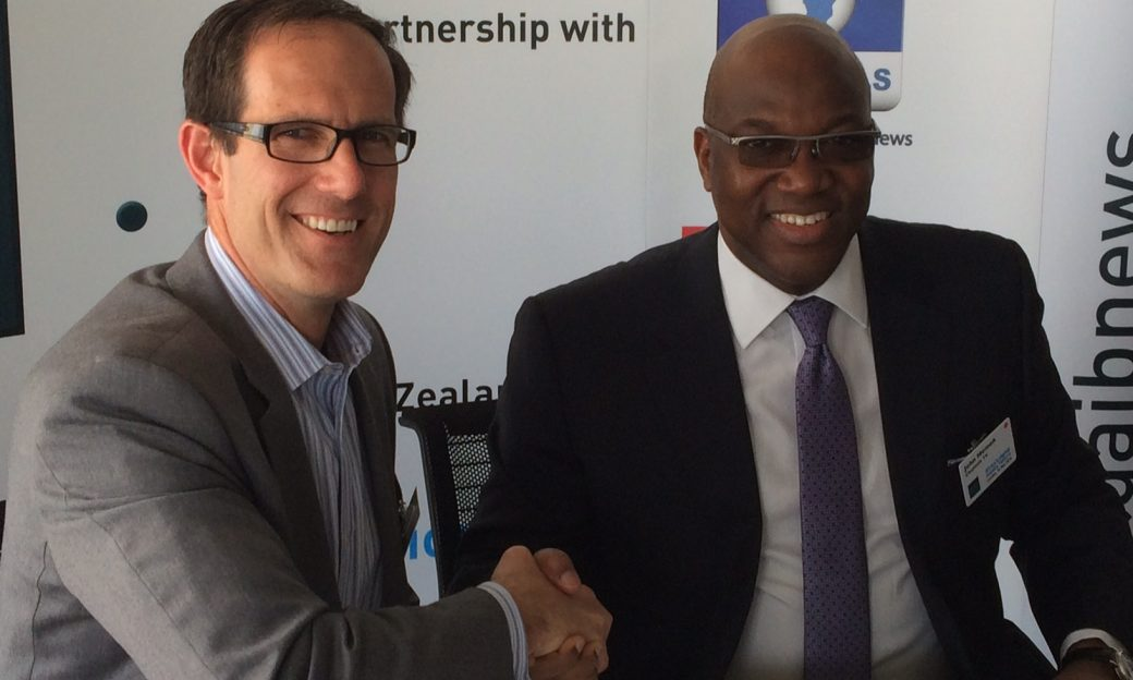 BBG Member Matt Armstrong and John Momoh, founder and Chief Executive Officer of Channels Television