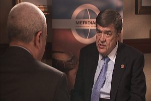 Congressman Ruppersbergerspeaking to interviewer