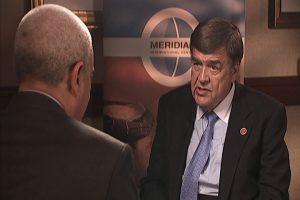 Congressman Ruppersbergerspeaking to interviewer