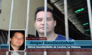 screengrab from interview, a still photo of man behind bars
