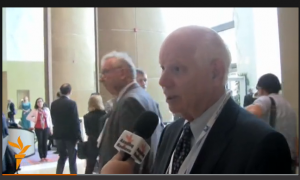 screengrab from interview with Senator Cardin