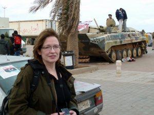 Elizabeth Arrott, VOA