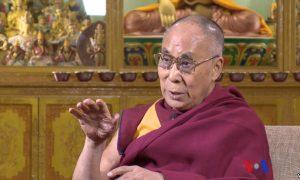 Dalai Lama on VOA TV