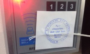 RFE/RL Baku office sealed by authorities in Azerbaijan.