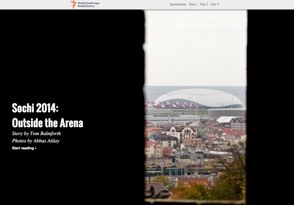 Sochi 2014: Outside the Arena