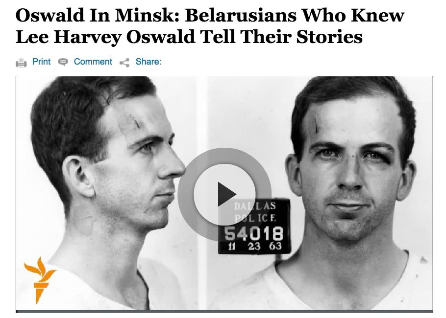 Oswald in Minsk
