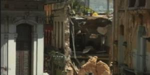 Dilapidated building in Havana.