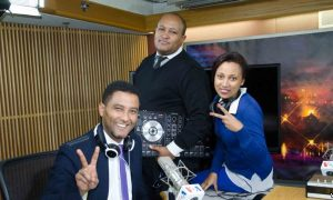 Hosts of Gabina VOA, a new Amharic-language infotainment youth radio show for the Horn of Africa region.