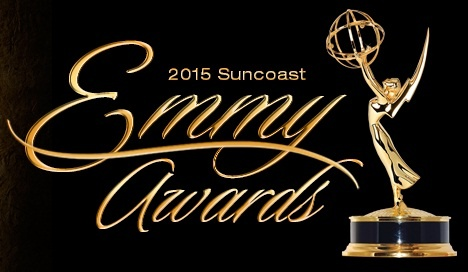 Logo of the 2015 Suncoast Emmy Awards