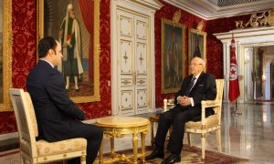 Alhurra's daily talk show Free Hour sat with the Tunisian President Beji Caid Essebsi in Carthage Palace for an exclusive interview in which he spoke about the political and democratic transition in Tunisia, among other relevant issues.