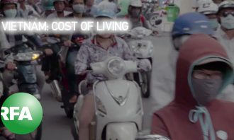Vietnam: Cost of Living – promotional screen capture shows crowded street